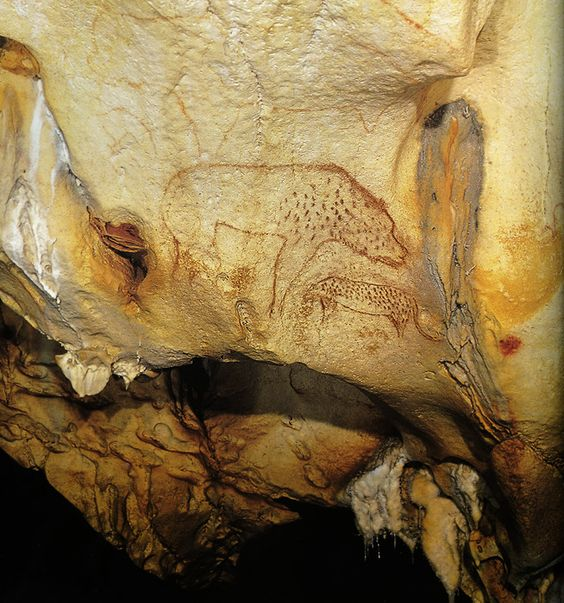 The Panther Panel  --  32,000-30,000 BCE  --  Chauvet Cave, France