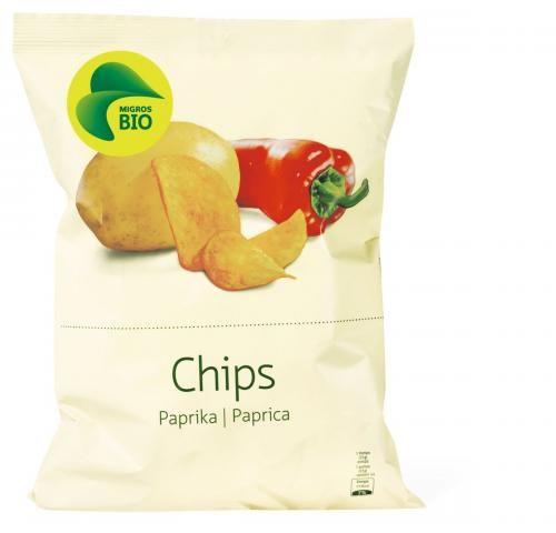 Bild von Bio Chips Paprika