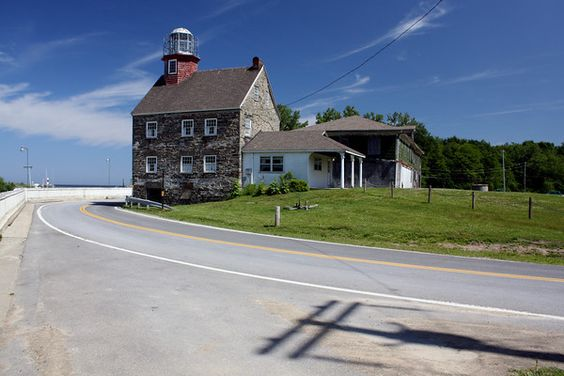 Selkirk Lighthouse, Lake Ontario, NY visited June 2007 ...