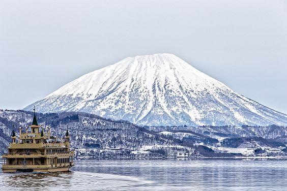 Mt. Yotei at Lake Toya