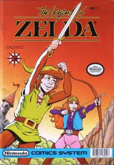 The Legend of Zelda #1 - He Also Serves... (Issue)