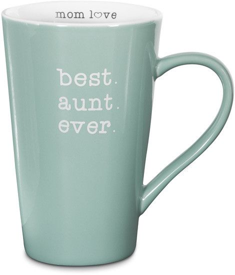 Best Aunt Ever 18 oz Latte Mug
