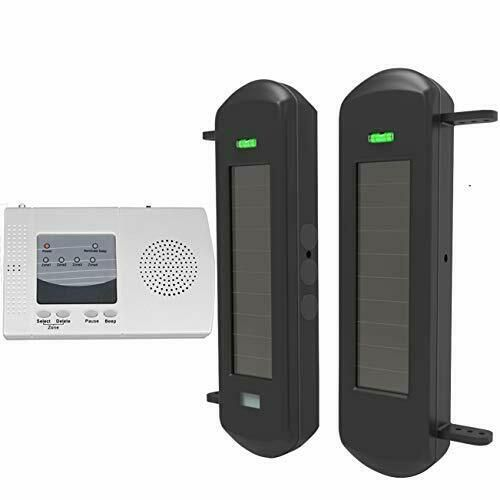 Htzsafe Solar Wireless Driveway Alarm System 1 2 Mile Long Transmission Range Ebay Driveway Alarm Outdoor Weatherproof Alarm System