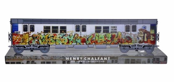"""NYC ORIGINAL """"KASE2"""" Whole car Limited edition 49cm Collector graffiti art train . Part of the NYC art Revamp project . WORLD WIDE SHIPPING.. collect your Limited edition Official style wars  collector train sets #graffiti #graffitiart #urbanart"""