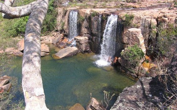 Cachoeira do Arrojado: paraíso a 120 quilômetros de Brasília. Foto: Flickr / Rato Fujão