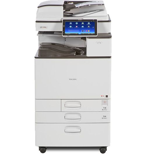 Ricoh Aficio Mp C2004 Color Multifunction Copier Printer Scanner Ricoh Multifunction Printer Printer Printer Scanner