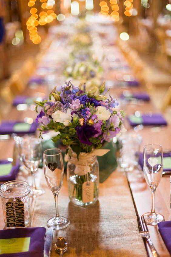 Purple Farm Wedding