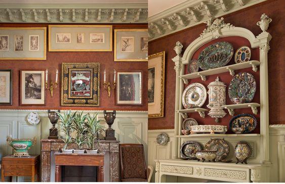 Salle à manger de Gustave Moreau, Paris, Musée Gustave Moreau: