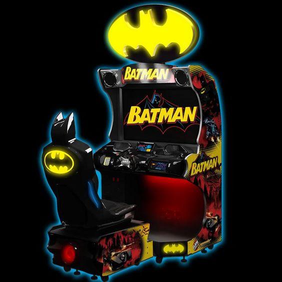 Raw Thrills Batman Arcade Driving Game