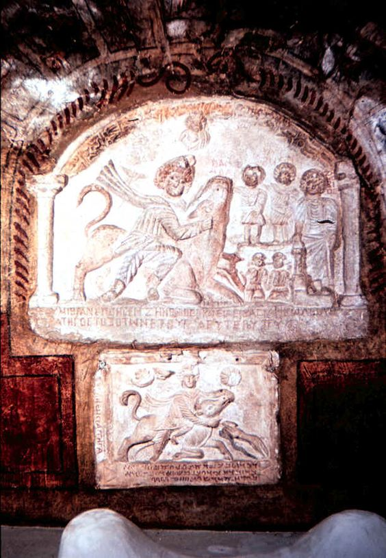 The city of Dura Europos was founded around 300 BCE by Seleucids
