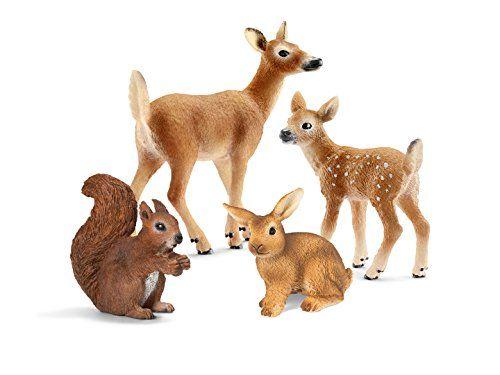 Schleich Forest Animal Babies Set Schleich North America 41457