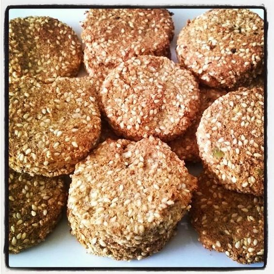 Gluten Free Savoury Protein Crackers - 1/2 cup sesame seeds 1/4 cup sunflower seeds (ground) 1/2 cup 180nutrition vegan powder (or ground almond) 1/4 cup almonds (ground) 1 tsp Garlic powder 1 tsp Cajun spice 1 tsp Himalayan salt 1 tsp black pepper 4 organic eggs (beaten) - See more at: http://www.lyndagriparic.com/Gluten-Free-Savoury-Protein-Crackers/#sthash.rgpRladr.dpuf