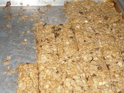 Granola Bars instead of buying expensive ones at the store...