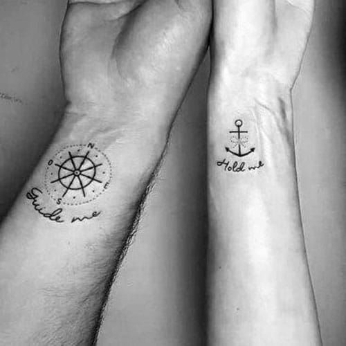 51 Best Matching Couple Tattoos Cool Designs Ideas 2019 Guide