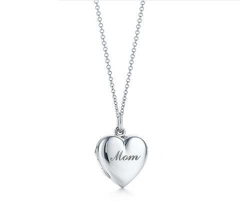 Mom heart locket in sterling silver, small, on a chain.chain link necklace,accessories vintage choker celebrity inspired fantasy - http://www.aliexpress.com/item/Mom-heart-locket-in-sterling-silver-small-on-a-chain-chain-link-necklace-accessories-vintage-choker-celebrity-inspired-fantasy/1846796905.html