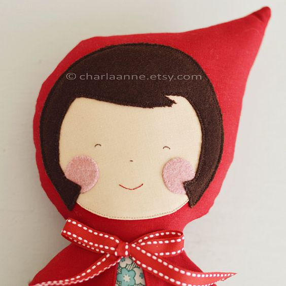 Little Red Riding Hood by charlaanne on Etsy