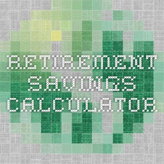 Retirement Savings Calculator  Money Matters
