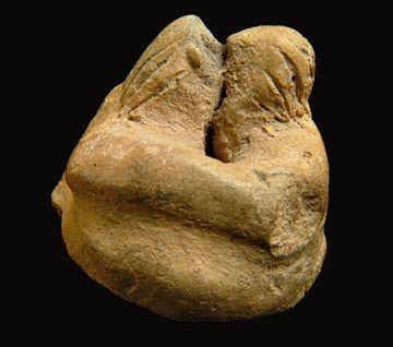 The Kiss, prehistoric 3200BC, malta