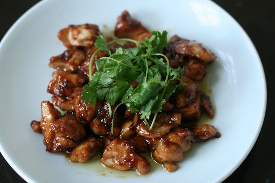 Honey Soy Stir Fried Chicken