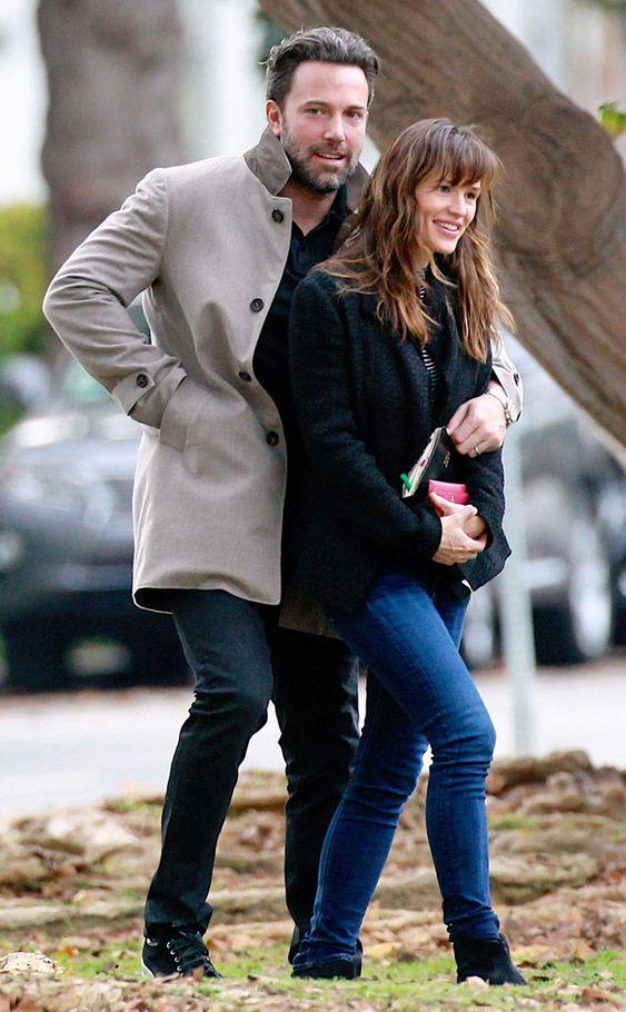 VOLANTAMUSIC: Ben Affleck y Jennifer Garner salieron juntos a al...