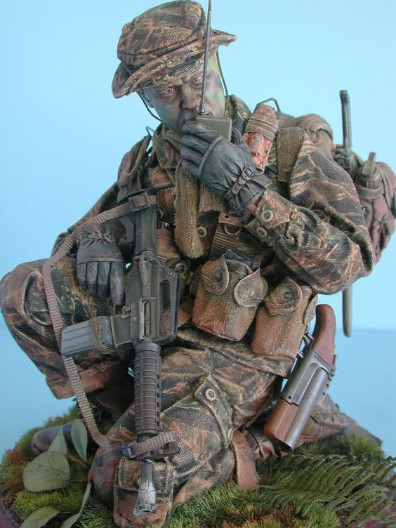 Airborne LRRP, Vietnam by Don Winar - OSW: One Sixth Warrior Forum