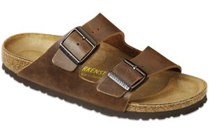"""I love a great pair of pumps, but nothing says """"three years of circus school in the woods"""" like a pair of Birks."""