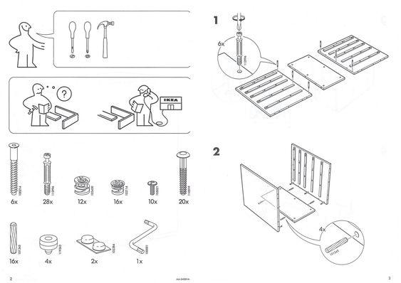 Ikea Manual  Instruction Manual Design