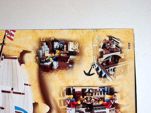 LEGO 10210 Box art - closeup back | Flickr - Photo Sharing!