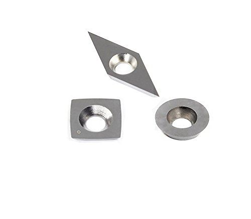 Tungsten Carbide Cutters Inserts Set For Wood Lathe Turning For Woodworking Tool