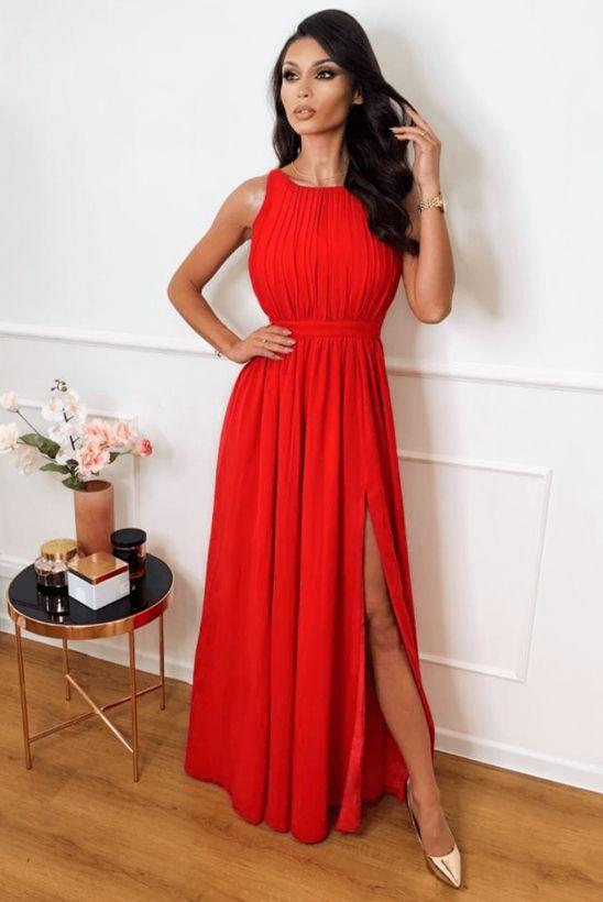 Ellie Czerwona Dluga Sukienka Red Formal Dress Formal Dresses Dresses