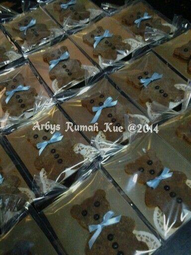 Teddy palm cookies