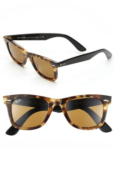 ray ban classic wayfarer sunglasses sale  ray ban 'classic wayfarer' 50mm sunglasses available at #nordstrom