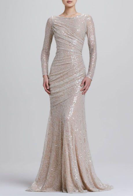Wedding dresses we love for under 1 500 gowns mermaids for Neiman marcus wedding dress