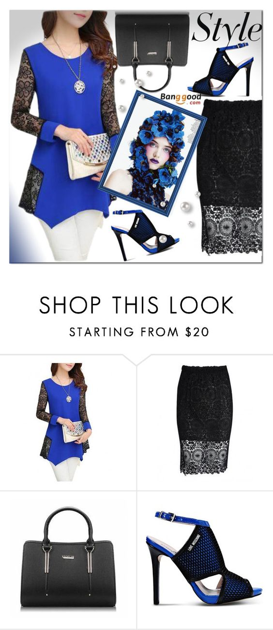"""Bangood 8/2"" by e-mina-87 ❤ liked on Polyvore featuring Love Moschino"