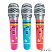 Giant Inflatable Microphones