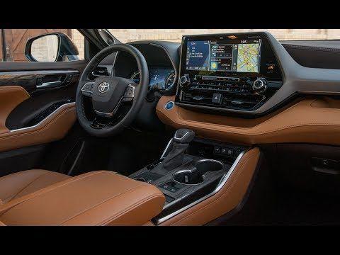 2020 Toyota Highlander Platinum Interior Details Youtube In 2020 Toyota Highlander Interior Toyota Highlander Toyota