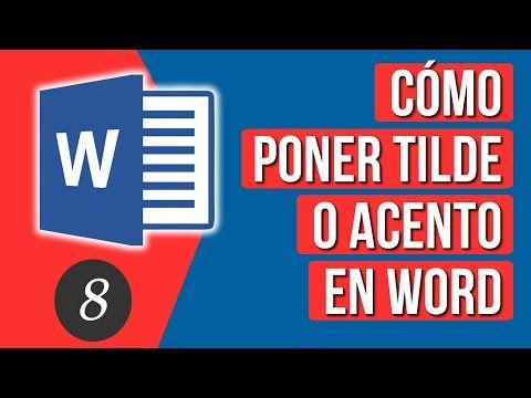 Docentesinformatizadosenred Cómo Poner Acento O Tilde En Word Letras Para Word Informatica Y Computacion Fuentes De Word