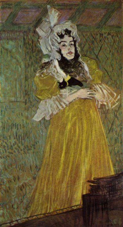 Henri de Toulouse-Lautrec, Miss May Belfort, 1895