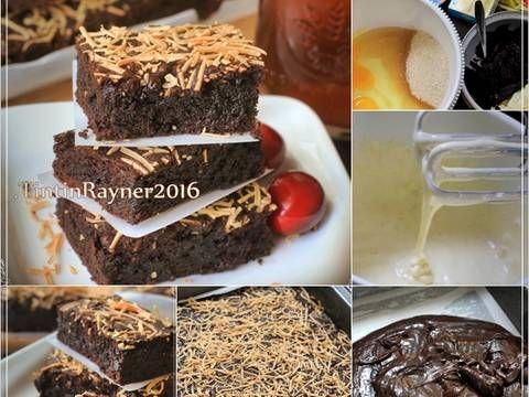 Resep Brownies Cokelat Moist Yummy No Bp Soda Kue Oleh Tintin Rayner Resep Makanan Manis Resep Kue Brownies Cokelat