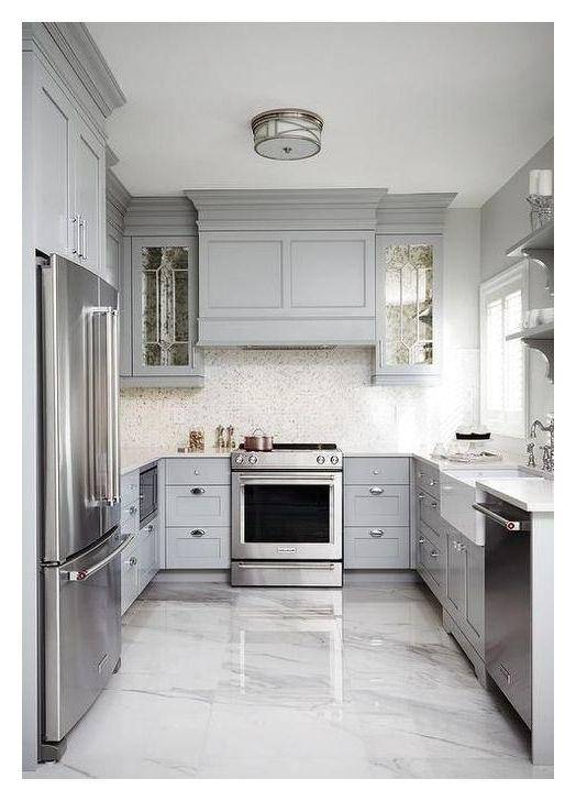 Cute 99 Gemutlichen Weissen Kuche Design Und Dekor Ideen 99 And Cozy Decor Design Ideas Kitc Kitchen Design Kitchen Renovation Simple Kitchen Cabinets