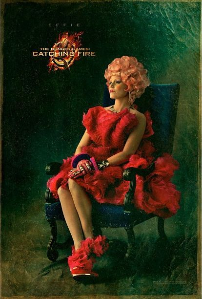 Póster: Elizabeth Banks En The Hunger Games: Catching Fire | DiosCaficho.Com