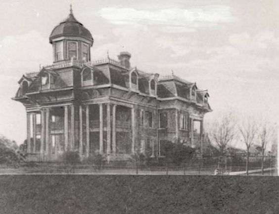 Historic homes of southeast texas the old home and the for Southeast texas home builders