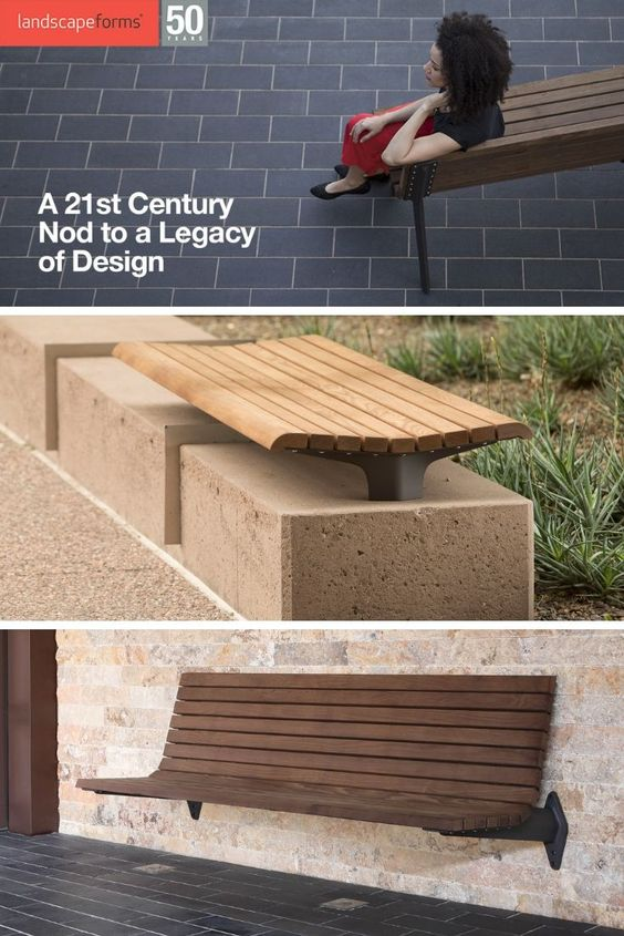 The New Generation 50 Line Celebrates The Past And Future Of Landscape Forms Street Furniture Generation Furniture