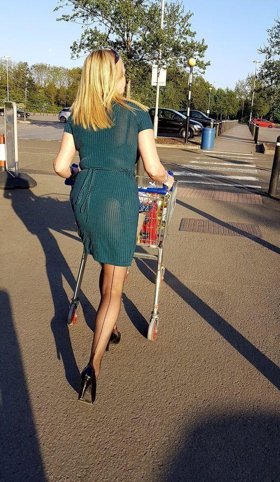 Stockings In Public