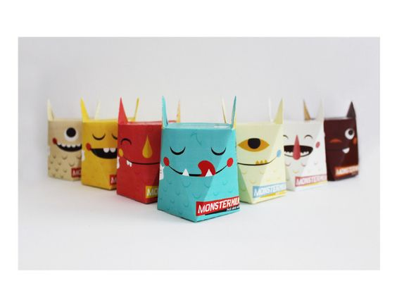 Propuesta de envases para una marca ficticia de leche, realizada por la ilustradora norteamericana Karen Dessire