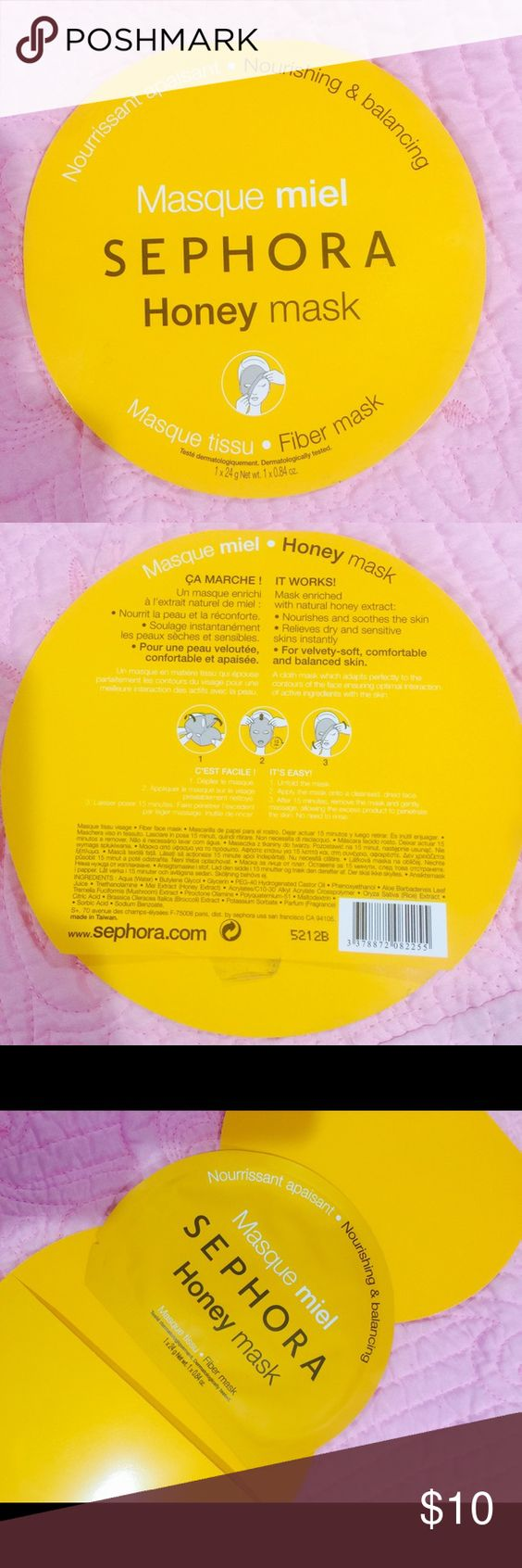 SEPHORA HONEY GIBER MASK Brand new!!! Feels great on skin. Leaves skin looking bright and cleaned. Gentle enough for sensitive skin. Renew refresh Revitalize! Sephora Other