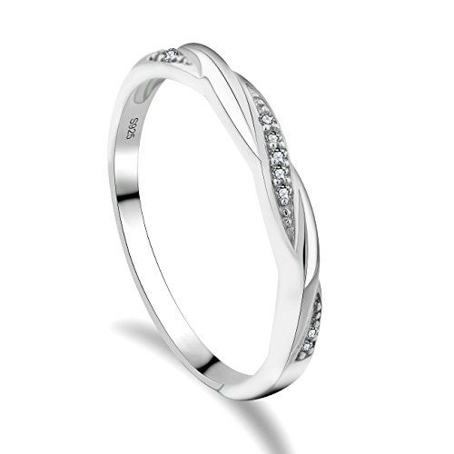 Id/ée Cadeau Printemps Bague Zirconiums You.Me.We