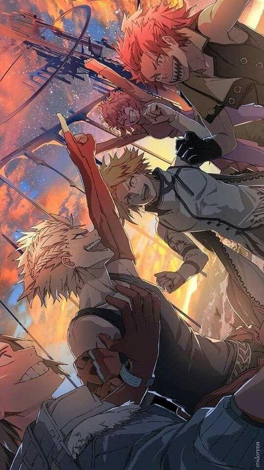 Bakusquad My Hero Academia Episodes Hero Hero Wallpaper