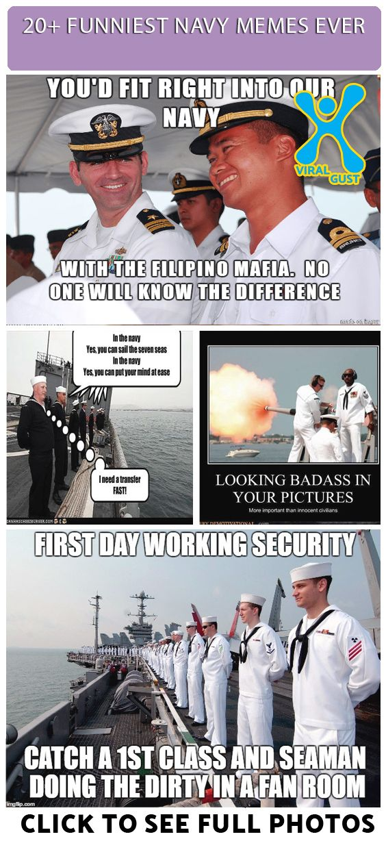 Funniest Navy Memes Ever 20 Photos With Images Navy Humor