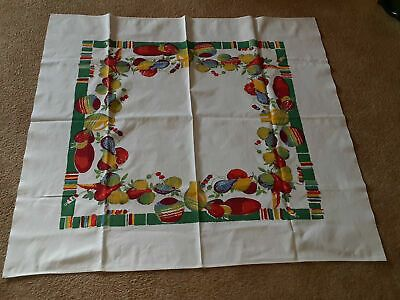 Pin On Vintage Tablecloths